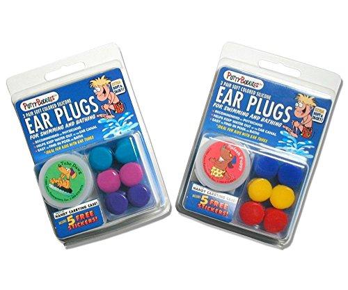 Putty Buddies (3er-Pack (Farbe kann variieren) (1er-Pack (3er-Pack), Rot, Gelb & Blau (nicht schwimmend))