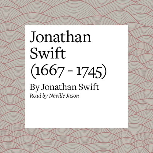 Jonathan Swift (1667 - 1745) audiobook cover art