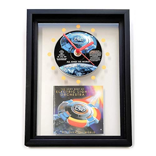 ELO - All Over The World: The Very Best Of Electric Light Orchestra = GERAHMTE CD-WANDUHR