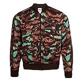 adidas Originals Jeremy Scott - Chaqueta de Pescador para Hombre Verde Camouflage S