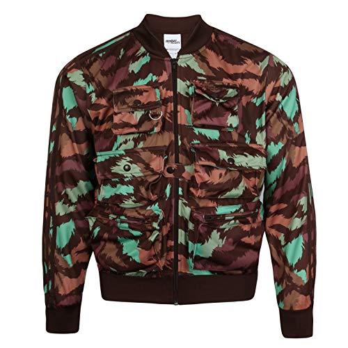 adidas Originals Jeremy Scott - Giacca da Pescatore da Uomo Camouflage S