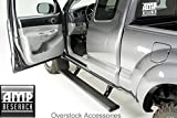 AMP Research 76151-01A Black Running Board (PowerStep Plug N' Play System for Ford F-150)