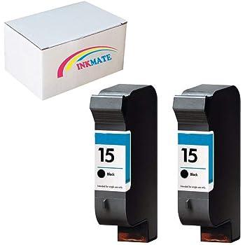 CompAndSave Replacement for HP DeskJet 825Cvr Printer Inkjet Cartridge HP 15 C6615DN Black Ink Cartridge
