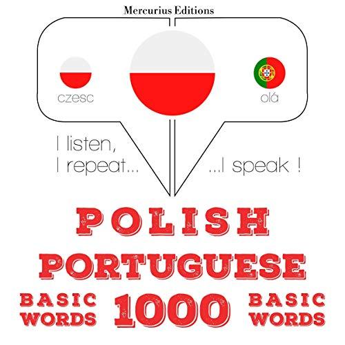 Polish - Portuguese. 1000 basic words cover art
