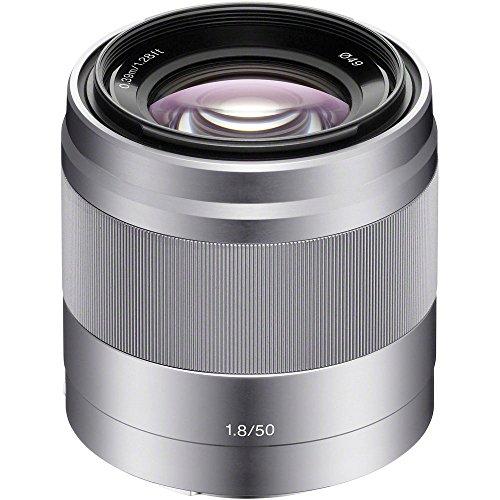 Sony 50mm f/1.8 Mid-Range Lens for Sony E Mount...