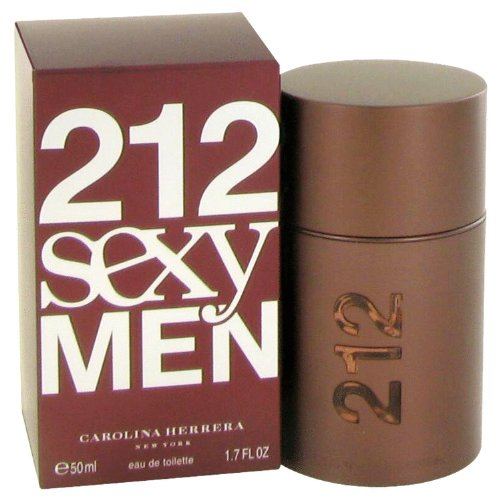 212 Sexy Men Eau De Toilette Parfüm, Spray, 50 ml
