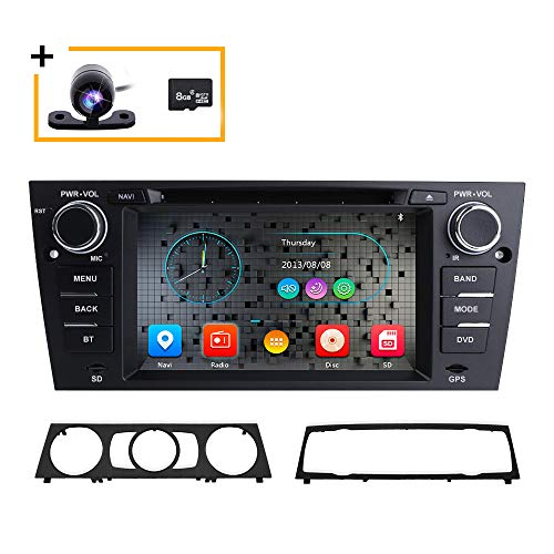 E90 E91 E92 E93 Auto DVD Player für BMW 3er mit 7 Zoll 1080P kapazitivem Touchscreen und GPS Navigation CANbus