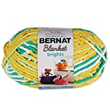 Bernat Blanket Brights Yarn (300g/10.5 oz) Lemonade Varg