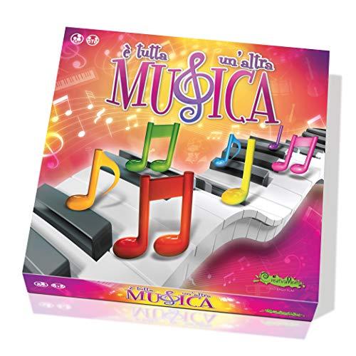 CreativaMente-È Tutta Un'Altra Musica-Gioco in Scatola, Multicolore, 1