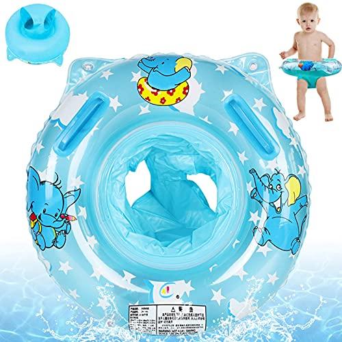 Anillo de Natación para Bebé,Anillo Flotador Bebé,Bebé con Asiento Anillo De Natación,Anillo de natación Asiento,Anillo de natación,Flotador de Piscina para Bebé