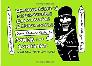Wainwright's Destructible Colourable Flashcardable Doodle Quotation Guide to Power and Conflict: the AQA GCSE Poetry Anthology (Wainwright's Destructible Colourable Flashcard Quotation Guide)