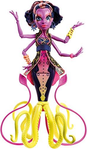 Monster High DHB49) Mattel - Muñeca, Monstruitas de profundidades, Kala