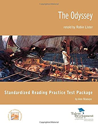 Standardized Reading Practice Package Test for The Odyssey, Retold by Robin Lister by Ann Maouyo (2013-07-30)