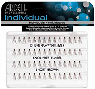 Ardell Duralash Naturals Lashes Knot-Free Flares Short Brown, 1-Count
