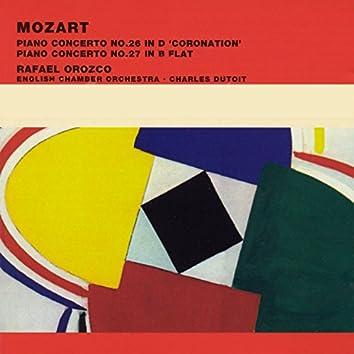 Mozart Piano Concertos Nos. 26 in D 'Coronation' & 27 in B flat