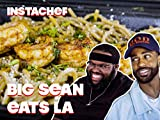 Big Sean Discovers His Love of Seafood in LA