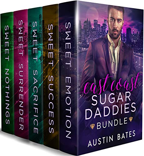 East Coast Sugar Daddies: An Mpreg Romance Bundle (English Edition)