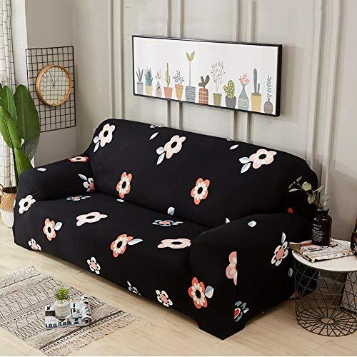iShine sofá überwürfe funda de sofá con Stretch elástico funda de sofá Slip Cover sofá protectora en diferentes tamaño y color 3 Sitzer für Sofalänge 190x230cm b