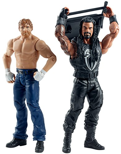 WWE Summer Slam Roman Reigns and Dean Ambrose Figure by Mattel