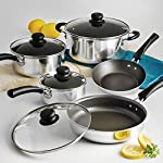 NEW-9-Piece-Simple-Cooking-Nonstick-Cookware-Set