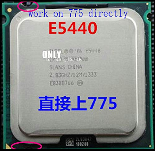 E5440 2.83GHz/12M/1333Mhz/CPU Equal to LGA775 Core 2 Quad Q9550 CPU,Works on LGA775 mainboard no Need Adapter