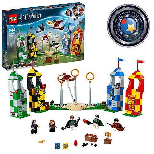 LEGO 75956 Harry Potter Quidditch Turnier Bauset,...