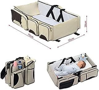 gar/çons les nourrissons Girls- p/épini/ère de b/éb/é lit pour voyager XYXtech 3 en 1 b/éb/é Voyage Bassinet // Diaper Bags /& Bed Crib Portable Pour les nouveau-n/és