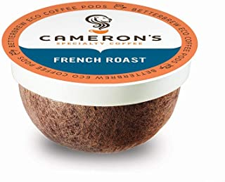 Cameron's Coffee Single Serve Pods, French Roast, 12 Count (Pack of 6)