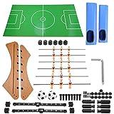 Ftory Mesa de futbolín - Mesa de futbolín clásica, Pelota de fútbol, pateador de fútbol, Juego Familiar, Tablero de Juguete para niños