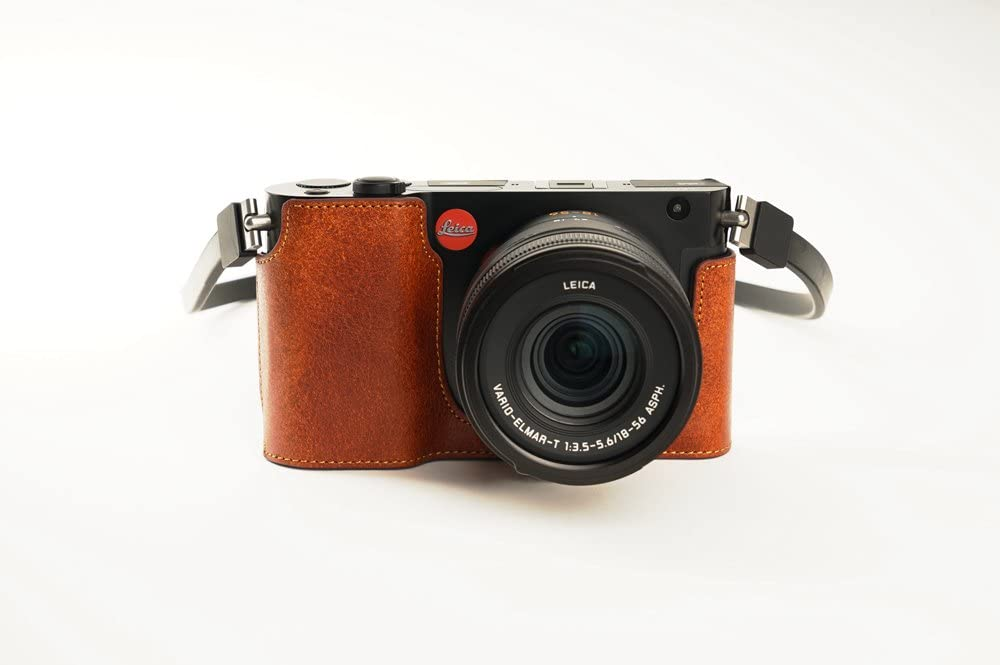 Leica Selling and selling T Case BolinUS Handmade Leather Genuine Camera Super-cheap Half Real