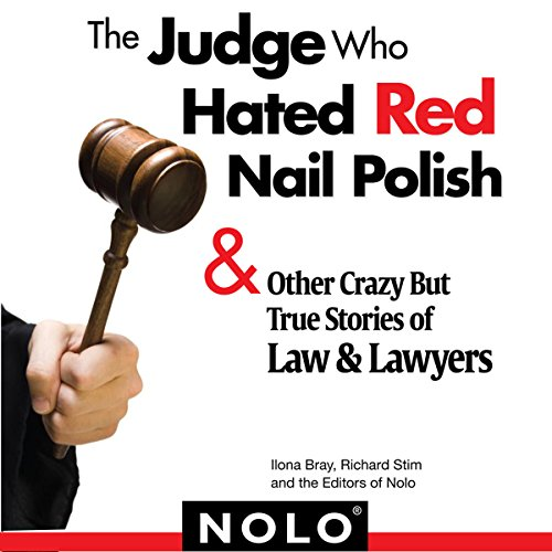 The Judge Who Hated Red Nail Polish audiobook cover art