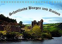 Schottlands Burgen und Ruinen (Tischkalender 2022 DIN A5 quer): Auszug bezaubernder schottischer Burgen und Ruinen (Monatskalender, 14 Seiten )
