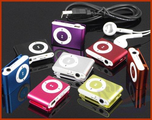 lecteur mp3 clips - couleurs aléatoires