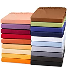aqua-textil Exclusiv Sábanas Ajustables Cama Boxspring Cama de Agua algodón Elastano 140x200-160x220 cm Gris Plateado