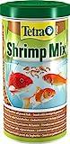 Tetra Pond Shrimp Mix - Snack für Teichfische aus natürlichen Shrimps und Gammarus, reich an Proteinen, 1 L Dose
