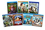 Ultimate Kids & Family 7-Movie Blu-ray 3D Collection: Monsters VS Aliens / Alice in Wonderland / The Little Rascals / Walking with Dinosaurs / Teenage Mutant Ninja Turtles: Out of the S