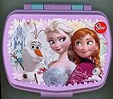 p:os 23895 Disney Frozen Brotdose, 17 x 13,5 x 5,5 cm
