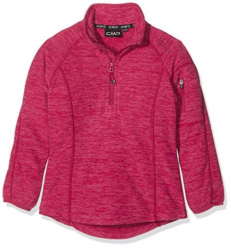 CMP T-Shirt en Polaire pour Fille 104 cm Magenta Mel.