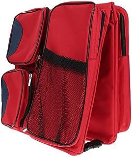 MXH Ordinateur Portable Table//Lit Table dordinateur//Ipad Bureau//Lazy en Alliage daluminium Table Pliante,Rouge