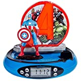 Lexibook RP500AV Marvel The Avengers Wecker, Rot/Blau