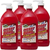 Zep Cherry Bomb Hand Cleaner ZUCBHC48CA 48 Ounce (Case of 4) - Perfect for Mechanics and DIY'ers