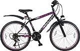 26 Zoll Kinder MTB Mountainbike Mädchen Jugend Fahrrad MÄDCHENFAHRRAD FEDERGABEL JUGENDFAHRRAD KINDERFAHRRAD Bike Rad 21 Gang Escape PINK Schwarz Pink TYT19-026