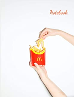 Notebook: French Fries