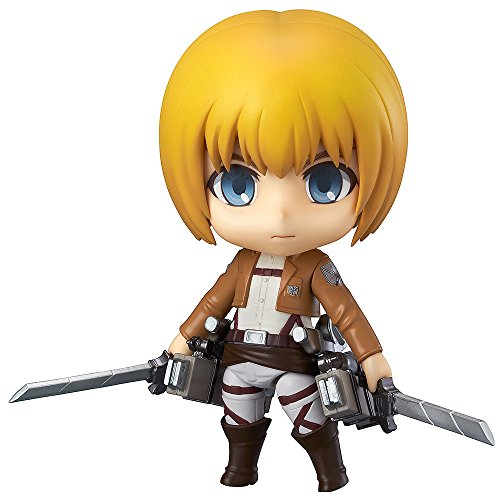 From the anime series Attack on Titan comes the sixth Nendoroid from the series, Armin Arlert! He comes with three expressions, including his standard face, a shouting face as well as a blushing face, capturing different sides of his personality. As ...