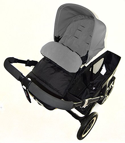 Chancelière/Cosy orteils Compatible avec Orbit bébé nouveau-né G3 Poussette Gris Dauphin