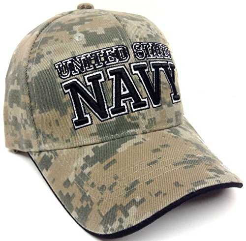 Text United States Navy Digital Camo Camouflage Hat Cap