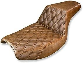 Saddlemen 882-09-172BR LS Step-Up Seat - Brown