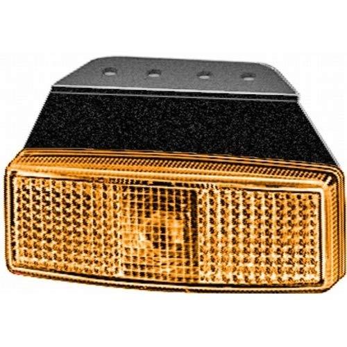 HELLA 2PS 006 717-061 Seitenmarkierungsleuchte - W5W - 12V - Lichtscheibenfarbe: glasklar - Anbau - Einbauort: links/rechts