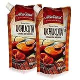salsa de rocoto - AlaCena Crema de Rocoto Uchucuta 400 gr. - Red Hot Chili Sauce - Peruvian Hot Sauce - 14.1 oz. (2 Pack)