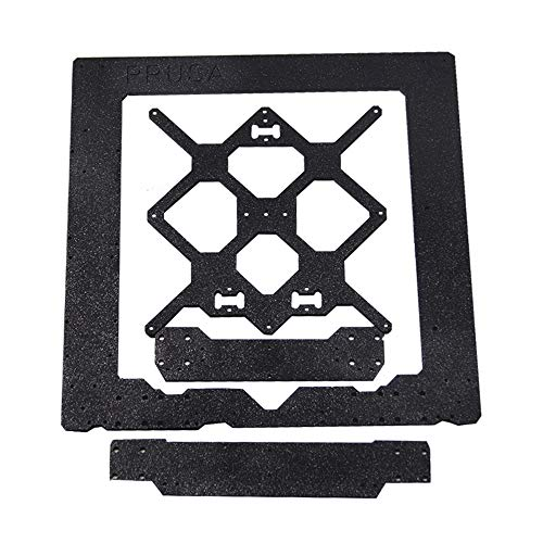 Gaoominy Cloned For Prusa I3 MK3 Aluminum Alloy Frame+Y Carriage+Front with Rear Plate Set for Prusa I3 3D Printer Parts